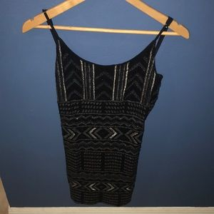 Express Beaded/Sequined Dress